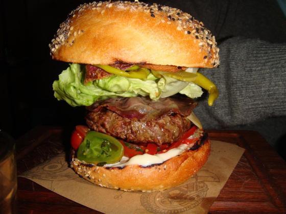 Jamies Italian Burger